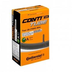 Cámara Continental 700x28/37C Válvula Gorda/Schrader 40mm