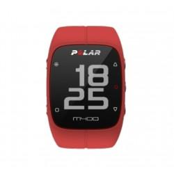 Reloj GPS Polar M400 + Cinta HR Rojo