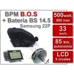 "Kit Eléctrico BPM 29"" B.O.S. LCD5 GP 14.5Ah"