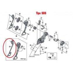 Portapoleas Interior Shimano M8000 SGS