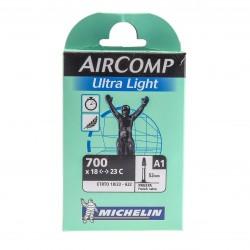 Cámara Michelin Ultralight A1 700x18/23 Válvula Fina 40mm