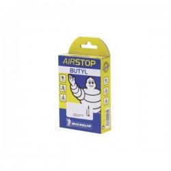 Cámara Michelin Airstop A1 700x18/25C Válvula Presta/Fina 80mm