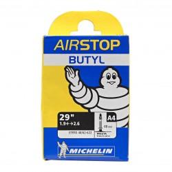 Cámara Michelin Airstop A4 29x1.9/2.6 Válvula Presta/Fina 40mm