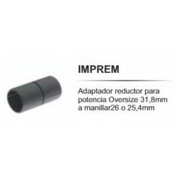 Reductor de Manillar Imperial Imprem 31.8/26/25.4mm