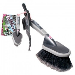 Muc Off 3 Set Brushes