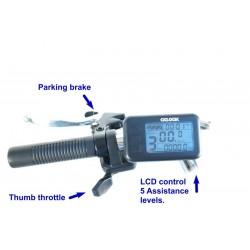 Triciclo Eléctrico Plegable Ciclotek Plex 14.5Ah
