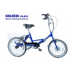 Ciclotek Plex 14.5Ah Folding Electric Tricycle