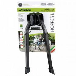 Soporte de Caballete Ursus Hopper 83 Regulable para Bicis Pesadas