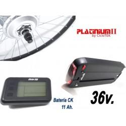 "Kit Eléctrico Platinum 20"" LCD5 con Batería CK 11Ah"