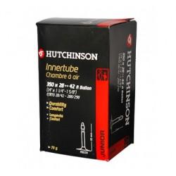 "Cámara Hutchinson 350x28/42 A Ballon (14x1 1/4-1 5/8"") Válvula Presta 32mm"