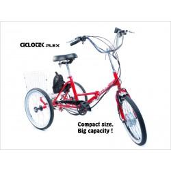 Triciclo Eléctrico Plegable Ciclotek Plex