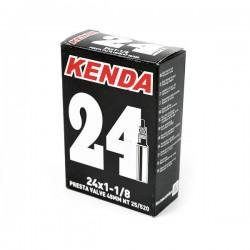 Cámara Kenda 24X1.0 Válvula Presta o Fina de 48mm