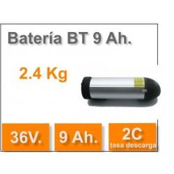 "Kit eléctrico para bici 27"" LCD5 Batería 36V 9AH"