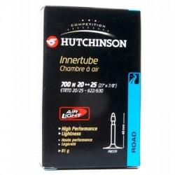 Cámara Hutchinson 700x20/25 60mm presta
