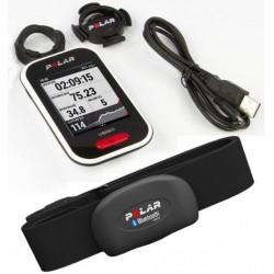 Ciclocomputador con GPS Polar V650 HR con banda y soporte