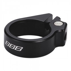Abrazadera de Sillín BBB Boltfix 31.8 Negro BSP-83