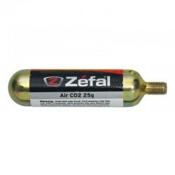 Bombona Aire CO2 Zefal 25gr con Rosca