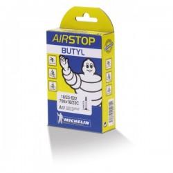 Cámara Michelin Airstop A1 700x18/25C Válvula Presta/Fina 52mm
