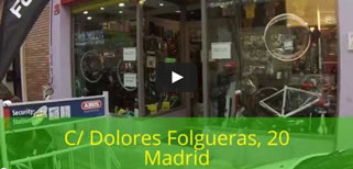 Ciclos Corredor Bicycle Store in Madrid