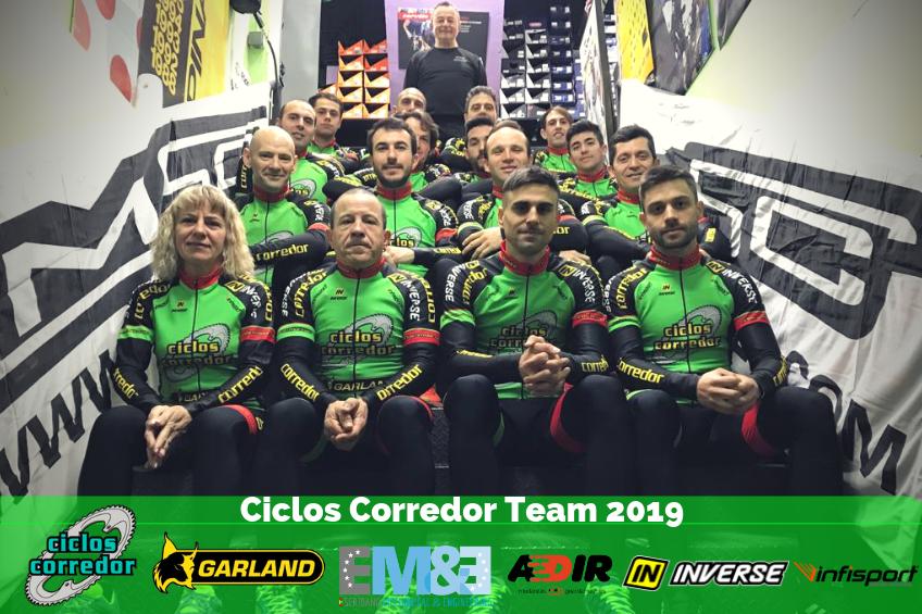 Presentado el equipo de Ciclos Corredor para la temporada 2019